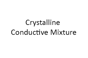 Crystalline Conductive Mixture